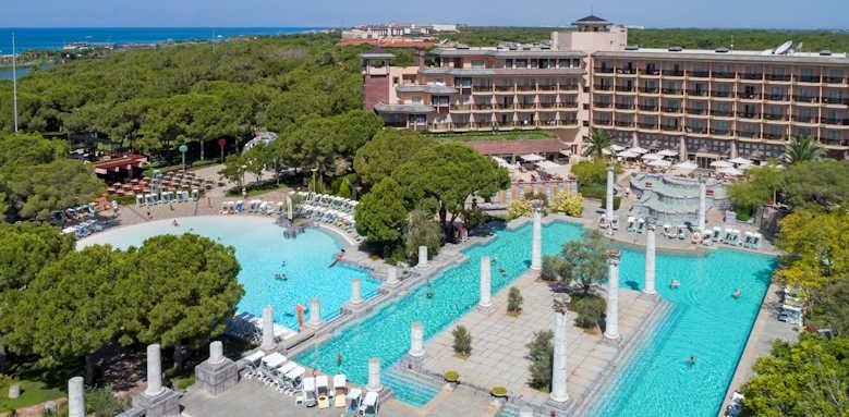 xanadu resort, aerial view