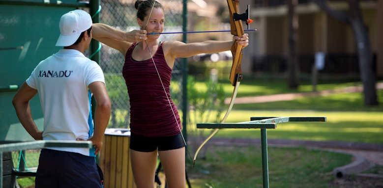 xanadu resort, Archery