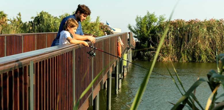 Xanadu resort, fishing