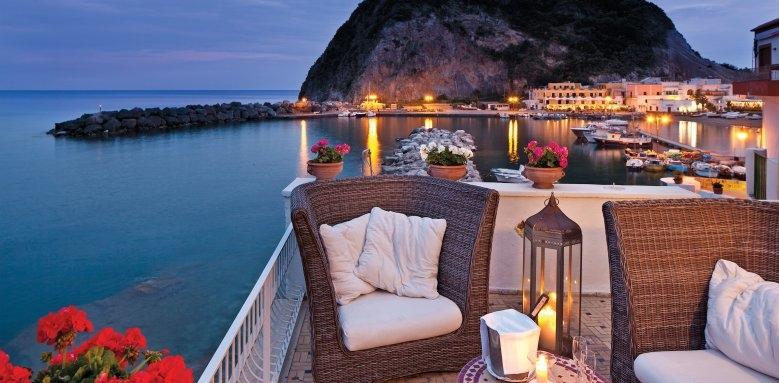 Miramare Sea Resort & Spa, sunset terrace