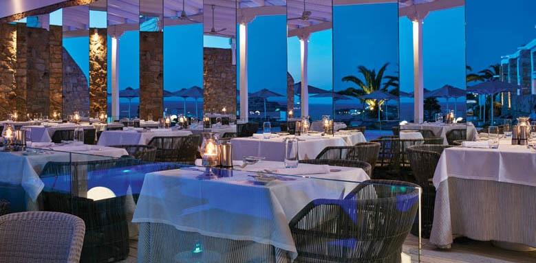 Myconian Ambassador Hotel & Thalasso Centre, Restaurant Interior