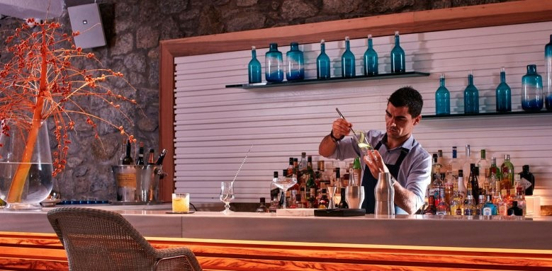 Myconian Ambassador Hotel & Thalasso Centre, Bar and Bartender