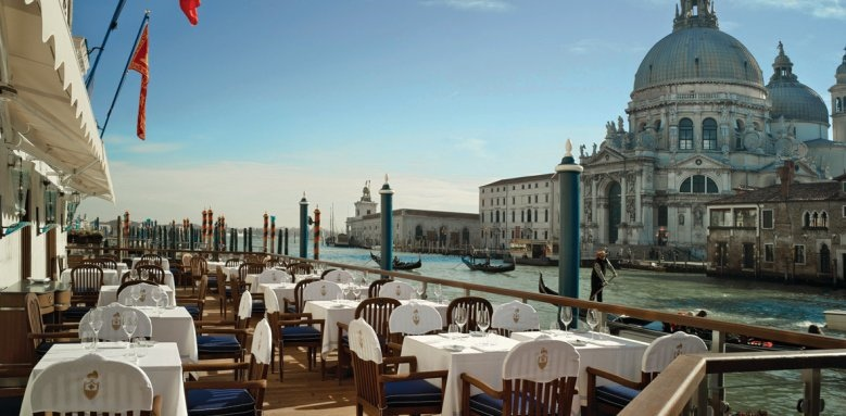 The Gritti Palace, club del doge restaurant terrace