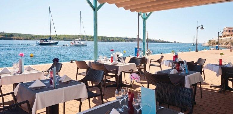 Barcelo Hamilton Menorca, restaurant terrace