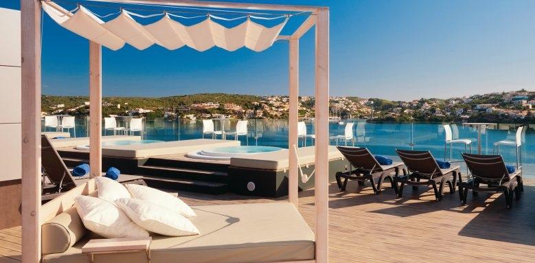 Barcelo Hamilton Menorca, sun terrace