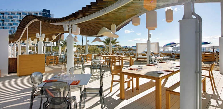 Hard Rock Hotel Ibiza, beach club