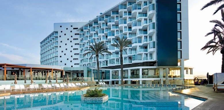 Hard Rock Hotel Ibiza, exterior by day