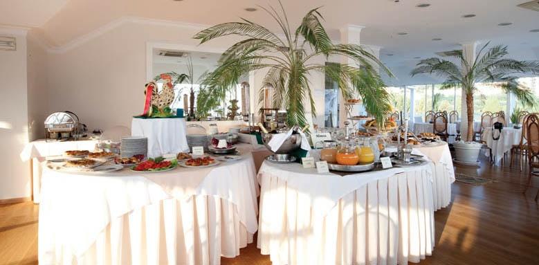 Hotel Regina, restaurant