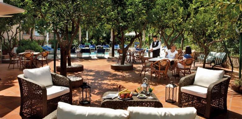 Hotel Regina, terrace