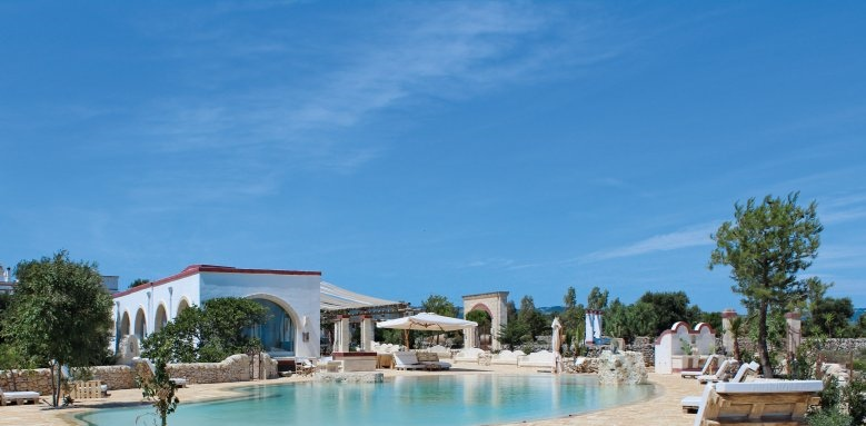 Masseria Montenapoleone, pool