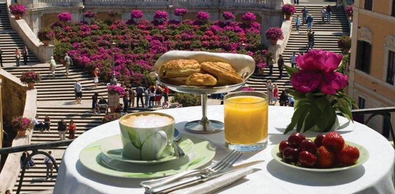 The Inn and View at the Spanish Steps, Breakfast