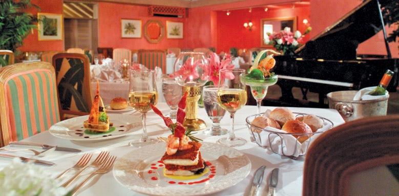 Cambridge Beaches Resort & Spa, Tamarisk restaurant