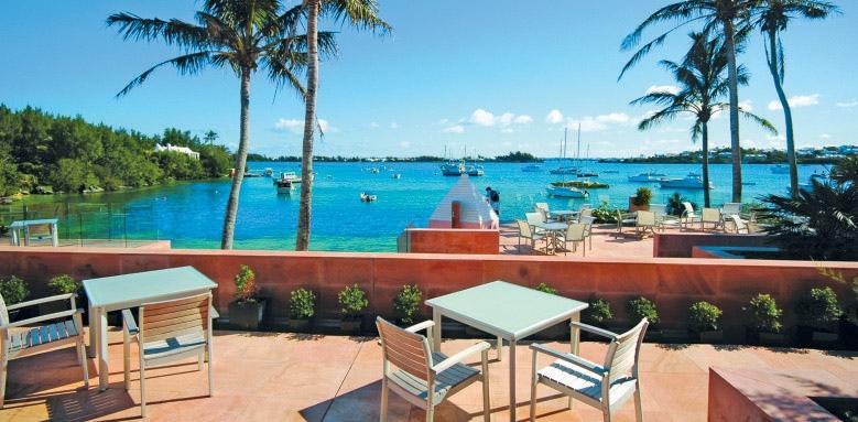Cambridge Beaches Resort & Spa, terrace