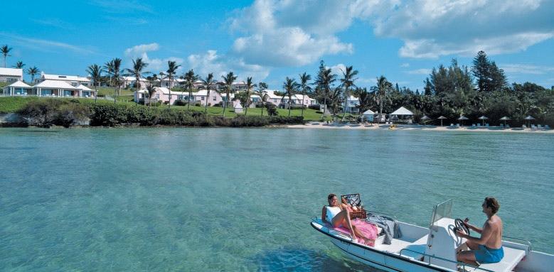 Cambridge Beaches Resort & Spa, couple on boat
