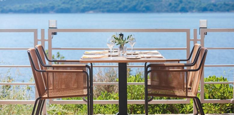 dubrovnik sun gardens, dining