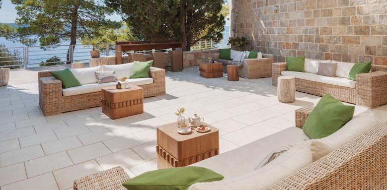 dubrovnik sun gardens, lounge area