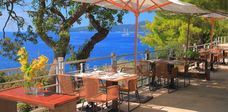 dubrovnik sun gardens, terrace