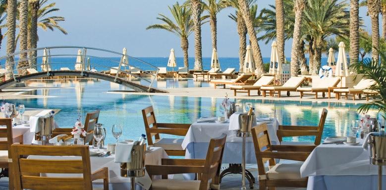 Constantinou Bros Asimina Suites Hotel, Estia restaurant terrace