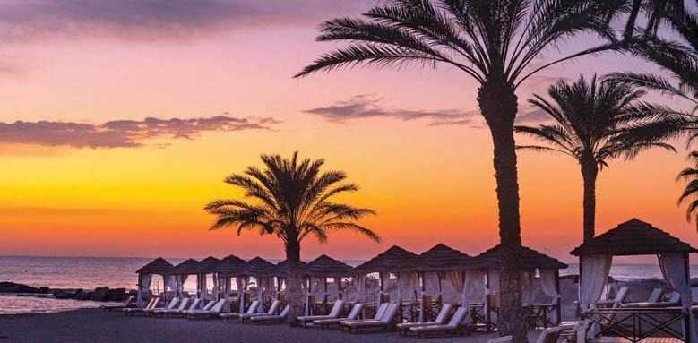 Asimina Suites Hotel, sunset