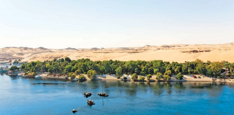 Movenpick Resort Aswan, river