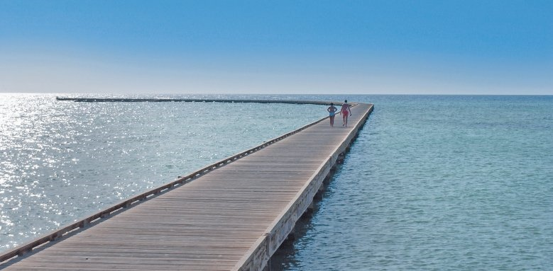 Sheraton Soma Bay Resort, walkway