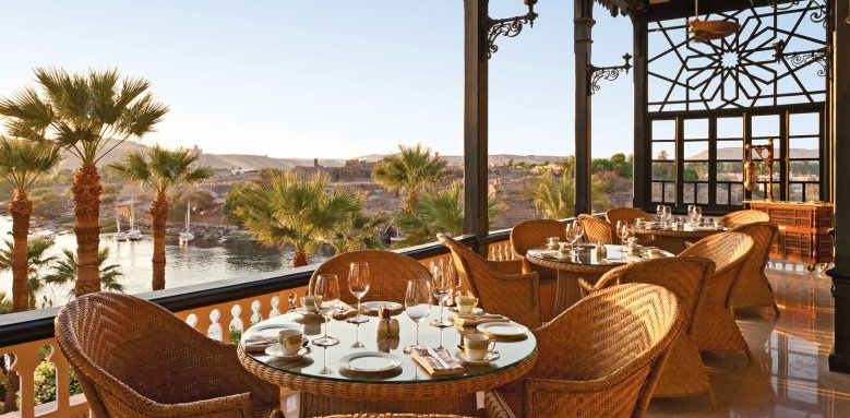 Sofitel Legend Old Cataract Aswan, the terrace