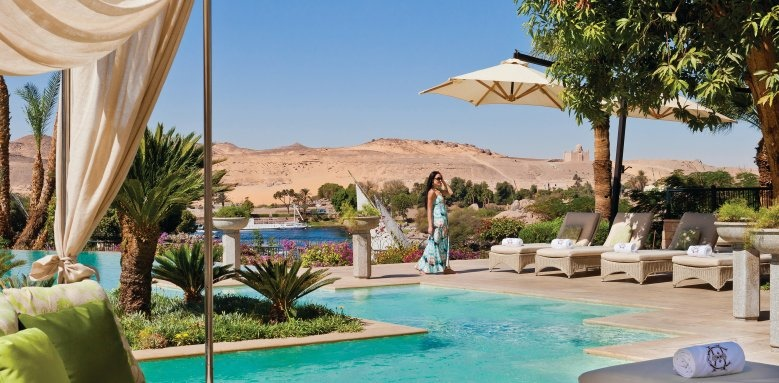 Sofitel Legend Old Cataract Aswan, pool area