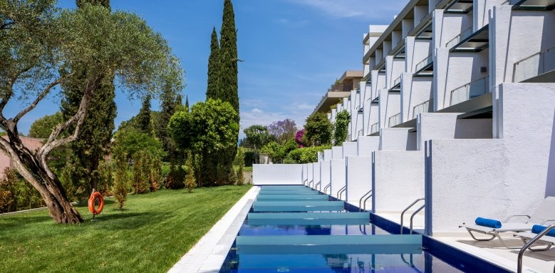 Kontokali Bay Resort & Spa, private pools and suites