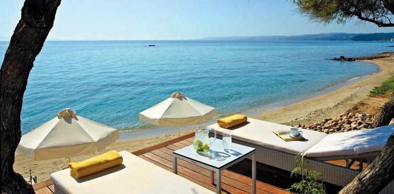 Afitis Hotel, beach