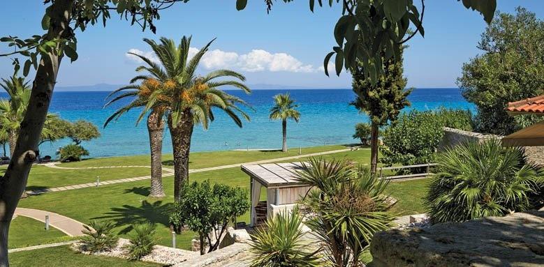 Afitis Hotel, garden and sea view