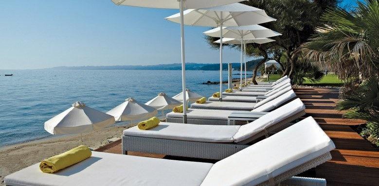 Afitis Hotel, sunloungers