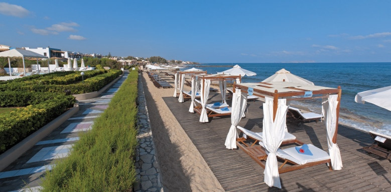 Aldemar Knossos Royal & Royal Villas, beach view