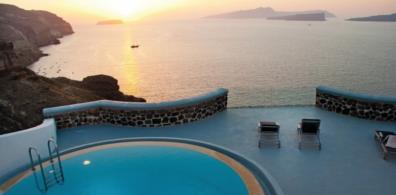 Ambassador Santorini, 2 bed suite pool