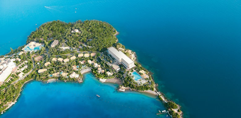 Grecotel Imperial Corfu, view of hotel