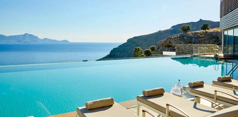 Lindos Blu Hotel & Suites, Infinity Pool