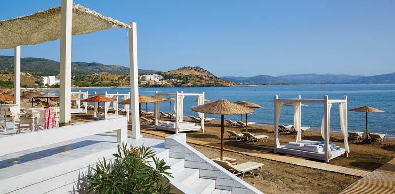 Lindos Blu Hotel & Suites, Beach