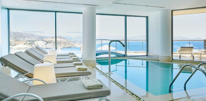 Lindos Blu Hotel & Suites, Indoor Pool