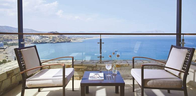 lindos, maisonette with private pool
