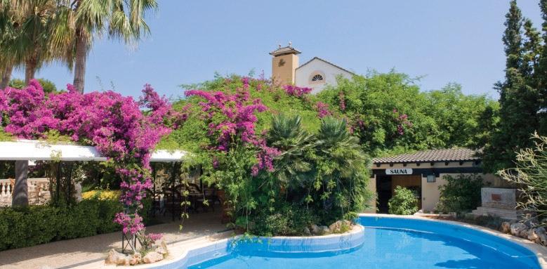 La Moraleja, pool