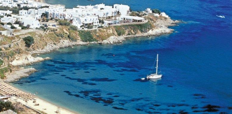 Petasos Beach Resort & Spa, view