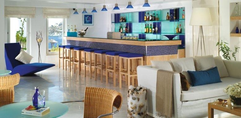 Petasos Beach Resort & Spa, lobby bar