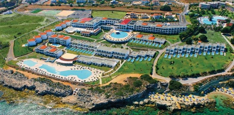 The Kresten Royal Villas & Spa, aerial view