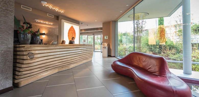 Aqualux Hotel Spa Suite & Terme, reception