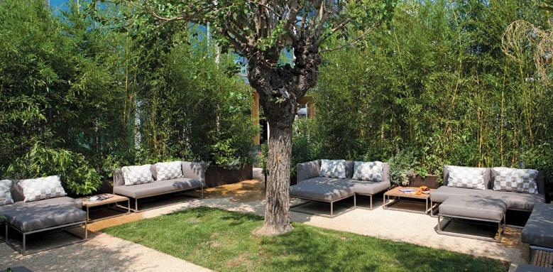 Aqualux Hotel Spa Suite & Terme, courtyard