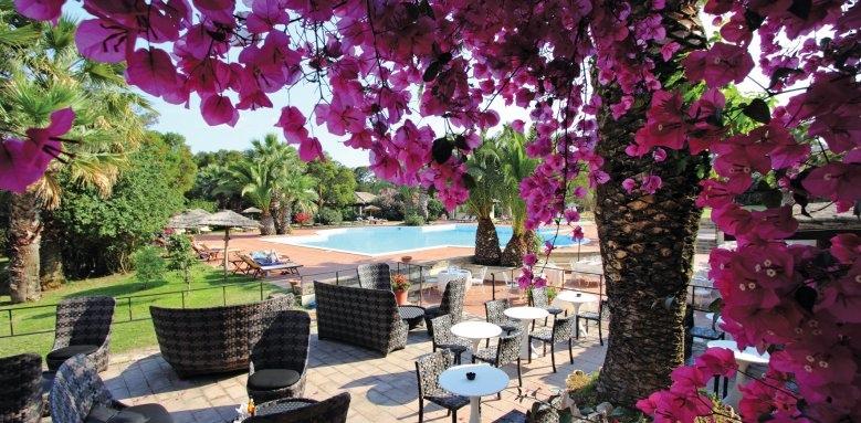 Hotel Costa Dei Fiori, pool terrace