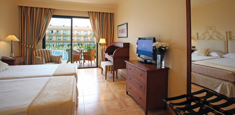 La Quinta, standard twin room