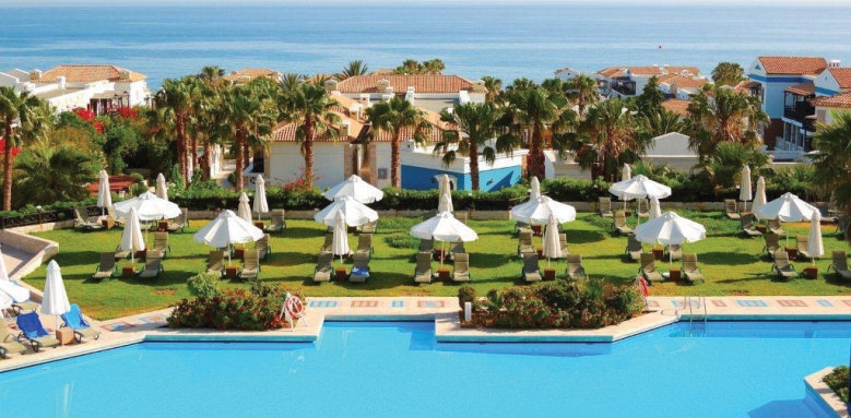 Aldemar Royal Mare, exterior and pool
