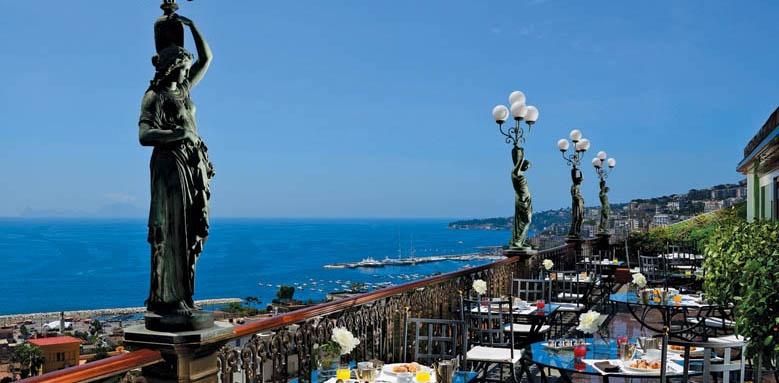 Grand Hotel Parker's, restaurant terrace