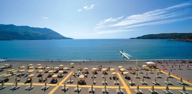 Hotel Splendid Spa Resort, beach