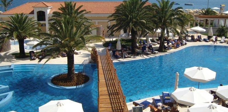 Hotel Splendid Spa Resort, pool view